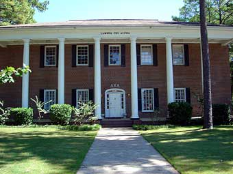 Alpha Phi Zeta's Current House