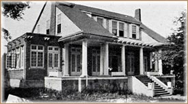 Alpha Phi Zeta's First House
