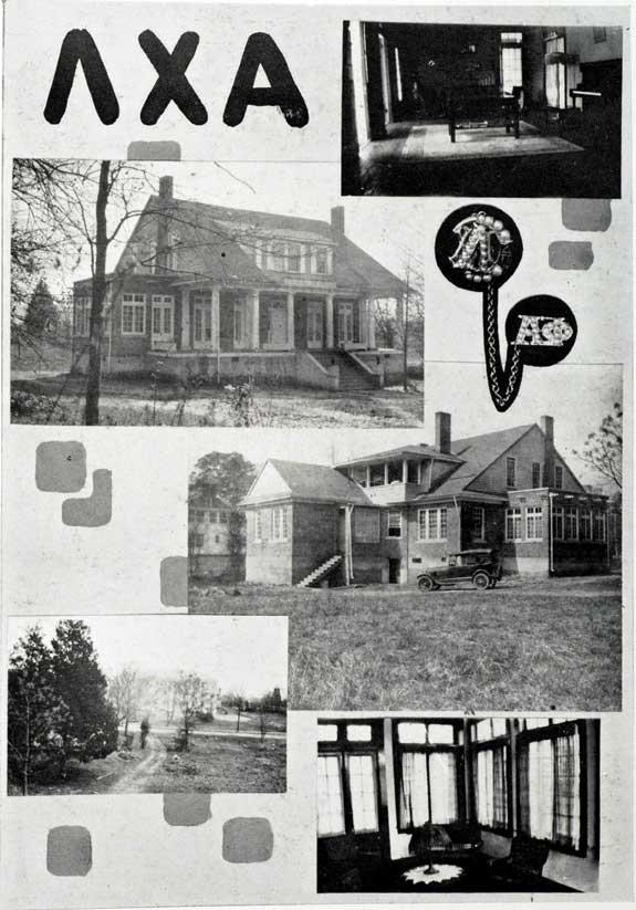 Alpha Phi Zeta's First House - 1921
