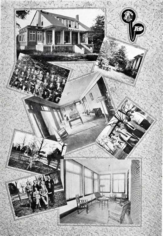 Alpha Phi Zeta's First House - 1922