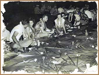 Alpha Phi Zeta Luau - 1947