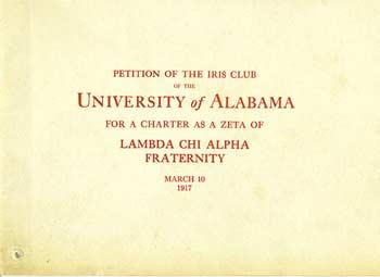 Iris Club Petition